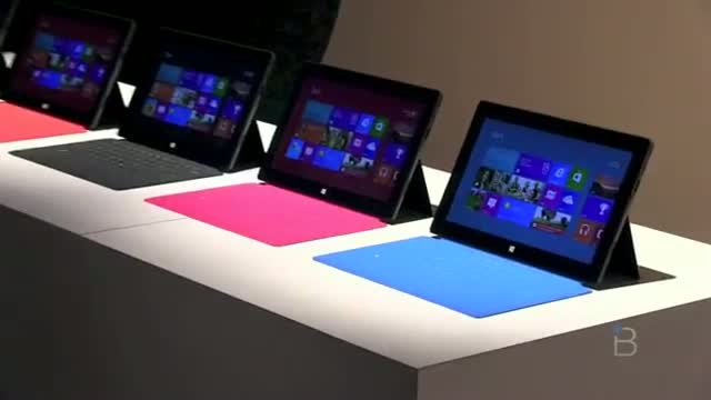 Microsoft Surface Hands On!