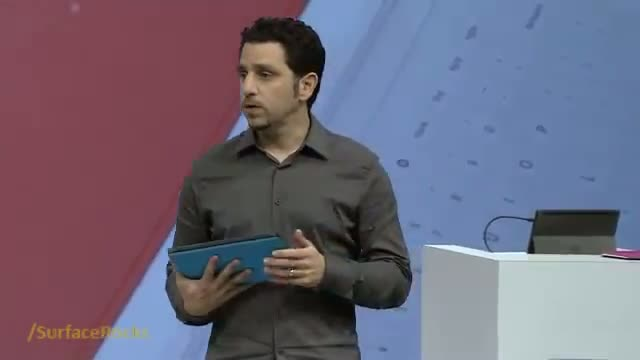 """Microsoft Surface Tablet - Technology on """"Touch Cover"""""""