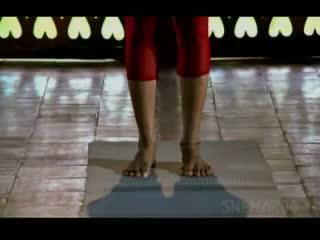 Tadasana With Finger Lock The Palm Tree Pose Yoga - Shilpa Shetty