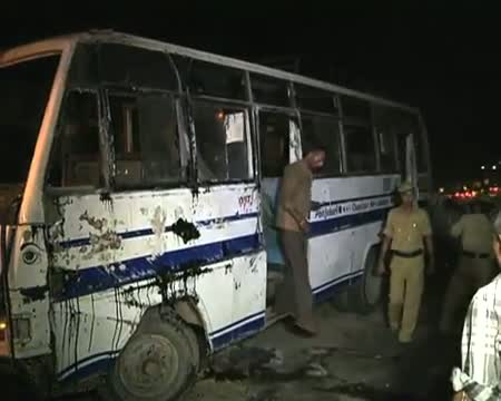 20 injured in bus accident in Guwahati