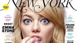 Emma Stone Talks Jim Carrey's Creepy Love Video
