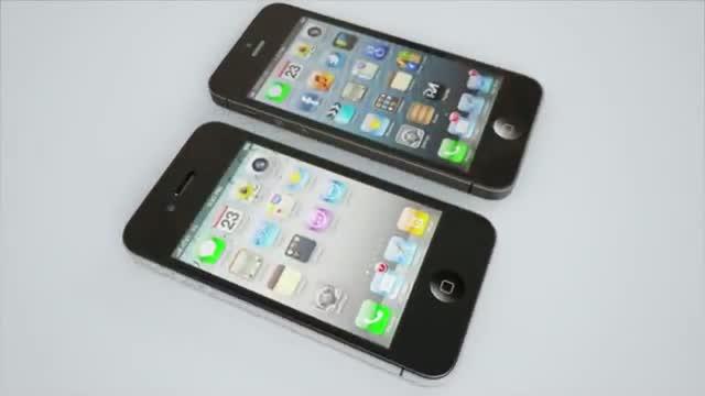 Apple iPhone 5 vs iPhone 4 Video Comparision