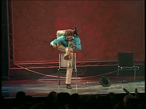 Yogi Baird - Violonist Acrobat - Funny Video