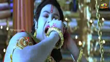 Sri Rama Rajyam Movie Scenes - Seethamma Joking About Anjaneya - Bala Krishna Nayanatara - Telugu Cinema Movies