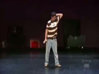 Amazing dance moves...AMAZING!!