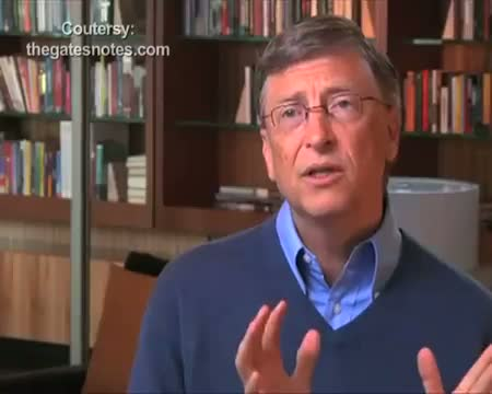 Bill Gates hails India