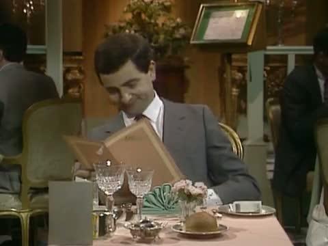 Mr Bean - The Restaurant - Im Restaurant