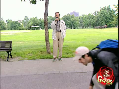 Just For Laughs Gag! Duck and walk! - Funny Video