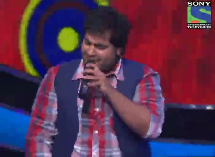 INDIAN IDOL SEASON 6 - EPISODE 12 - BEST PERFORMANCES - VIPUL MEHTA SINGING 'JUNGLEE'  - 7TH JULY 2012