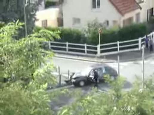 Police Accident Video