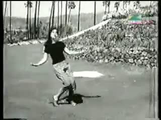 Thandi Thandi Hawa Pooche Unka Pata - Johnny Walker [1957] - Geeta Dutt & Asha