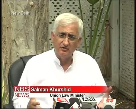 Khurshid takes dig at Rahul, takes u turn later