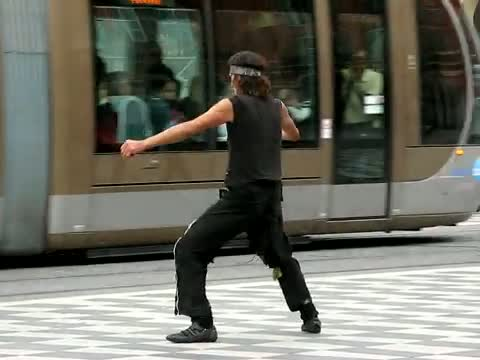 Strangest Street Dancer In The World Video