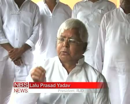 Nitish arrogant as 'Ravana' Lalu Prasad Yadav