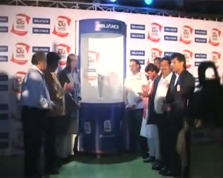 Virender Sehwag unveils ICC World Twenty20 trophy