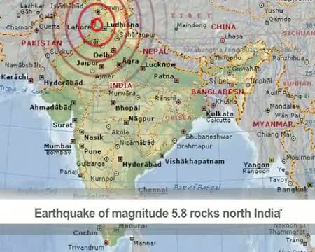 Earthquake of magnitude 5 8 rocks north India