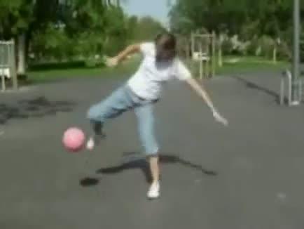 Amazing Female Soccer Player