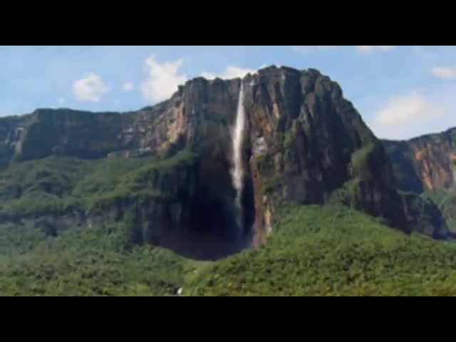 A Beautiful Video Of the Tallest Water fall on Earth - Angel Falls
