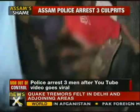 Guwahati - Teenage Girl Molested by mob, 3 Arrested Video