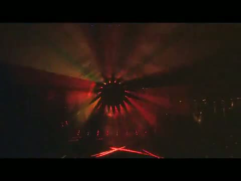 AMAZING laser show, another one ! 24 RGB 1W