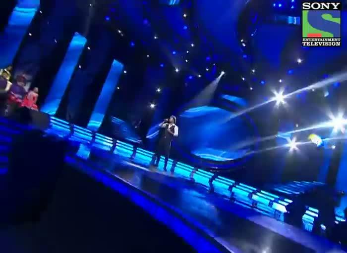 INDIAN IDOL SEASON 6 - EPISODE 13 - BEST PERFORMANCES - AMITABH NARAYAN SINGING 'RUK JANA NAHI'  - 13TH JULY 2012