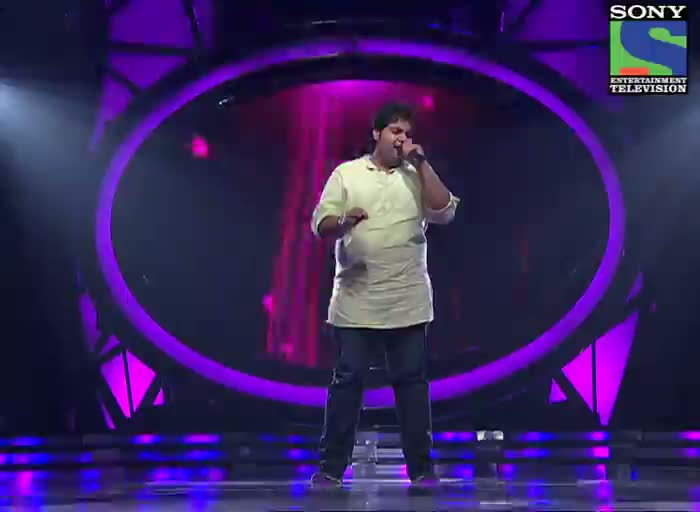 INDIAN IDOL SEASON 6 - EPISODE 14 - BEST PERFORMANCES - VIPUL MEHTA SUNG 'TUJHE DEKHA TOH YEH JAANA SANAM'  - 14TH JULY 2012