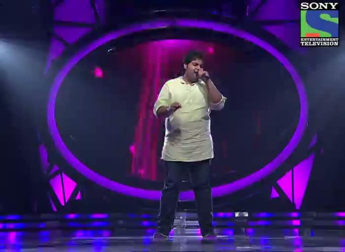 INDIAN IDOL SEASON 6 - EPISODE 14 - BEST PERFORMANCES - VIPUL MEHTA SUNG 'TUJHE DEKHA TOH YEH JAANA SANAM'  - 14TH JULY 2012