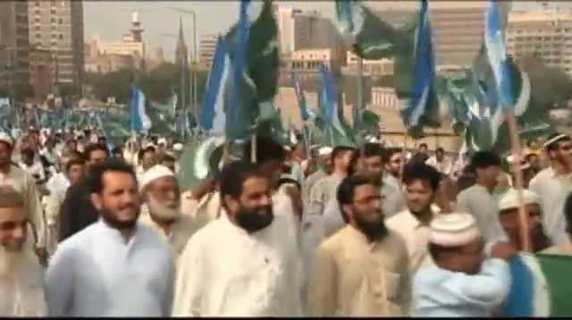 Raw Video - Pakistanis Protest NATO Supply Route