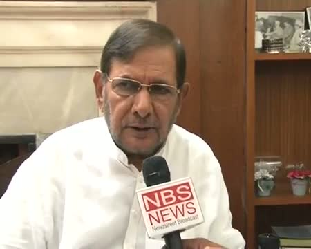 NDA will try to build consensus on Jaswant Sharad Yadav