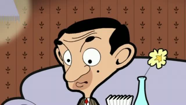 Mr Bean - Sofa dinner with Teddy - Mr Bean - Sofa-Dinner mit Teddy