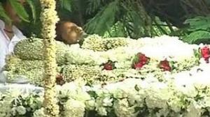 Funeral Of Rajesh Khanna