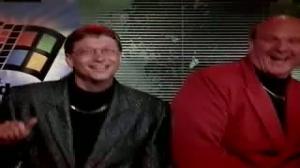 Bill Gates and Steve Ballmer acting like fools