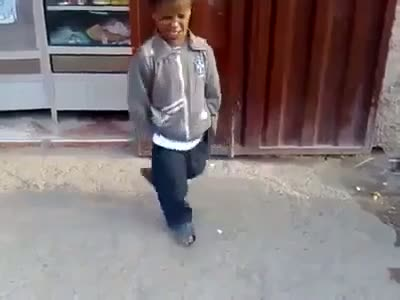 A Spacial Dance By a Special Child , HahahAHAH
