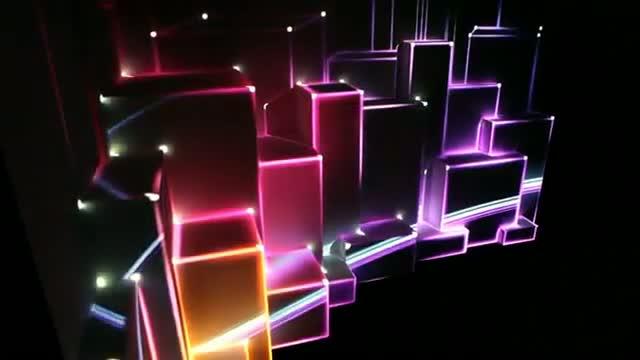 Amazing Light Show Video