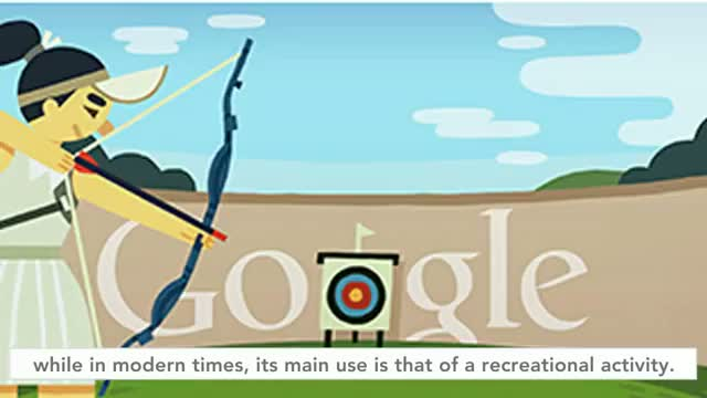 London 2012 : Archery (Google Doodle) - July 28, 2012