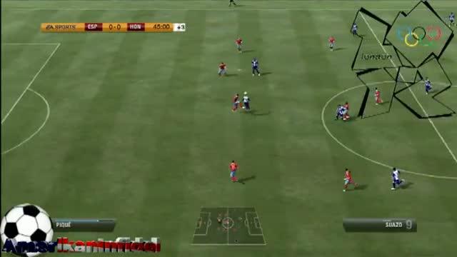 SPAIN Vs HONDURAS (0-1) London 2012 Olympics Group D 2nd Match Highlights/Predictor 7/29/2012