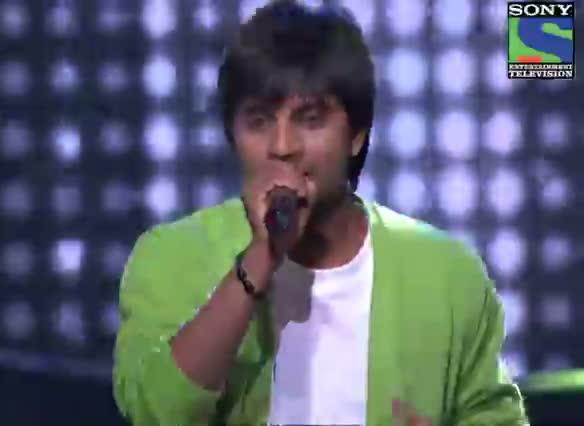 INDIAN IDOL SEASON 6 - EPISODE 18 - BEST PERFORMANCES - AMIT KUMAR SINGING 'MERA JOOTA HAI JAPANI' - 28TH JULY 2012