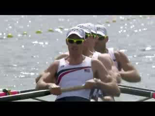 Rowing Men's Four Heat 3 Replay -- London 2012 Olympic Games
