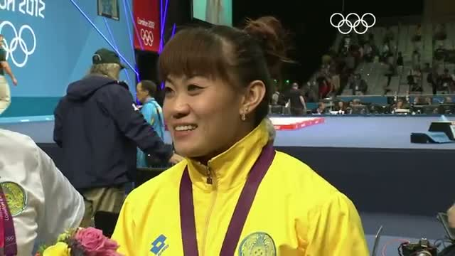 Weightlifting Women's 63kg Group A - Final - Maneza wins Gold - London 2012 Olympic Games Highlights