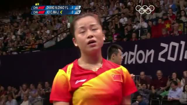 Badminton Mixed Doubles Final - China v China - London 2012 Olympic Games Highlights