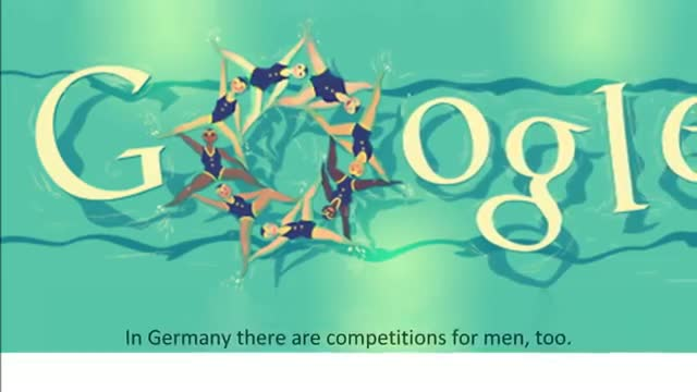 London 2012 Synchronised Swimming Google Doodle (10)