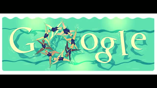London 2012 Synchronised Swimming gets the latest Google Doodle