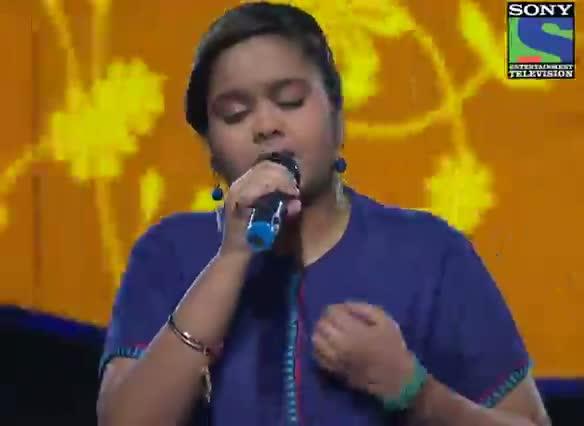 INDIAN IDOL SEASON 6 - EPISODE 20 - BEST PERFORMANCES - RITIKA RAJ SINGS 'MERE BHEEGI BHEEGI SI' - 4TH AUGUST 2012