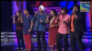 INDIAN IDOL SEASON 6 - EPISODE 20 - BEST PERFORMANCES - CONTESTANTS SINGING 'ZINDAGI MILKE BEETAYENGE' - 4TH AUGUST 2012
