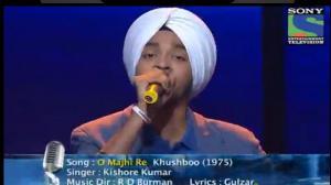 INDIAN IDOL SEASON 6 - EPISODE 20 - BEST PERFORMANCES - DEVENDRA SINGH SINGS 'O MAAJHI RE' - 4TH AUGUST 2012