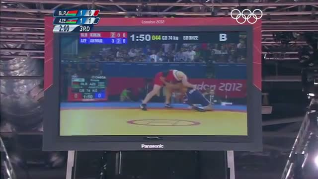 Wrestling Men's Greco-Roman 74 kg Finals - Russian Fed. GOLD - London 2012 Olympic Games Highlights