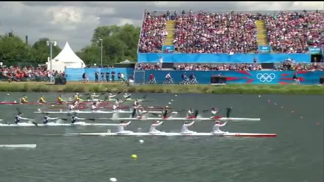 Canoe Sprint Kayak Four (K4) 500m Women Semifinals Full Replay - London 2012 Olympic Games