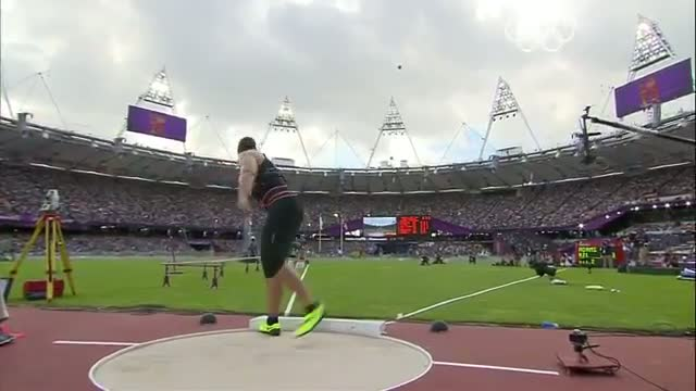 Athletics Women's Shot Put Qualifying Rounds - London 2012 Olympic Games Highlights