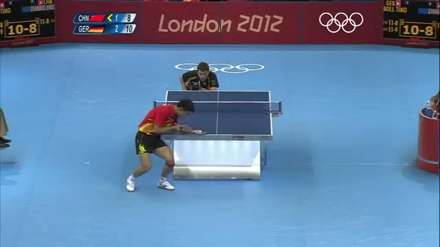 Table Tennis Men's Team Semifinal 1 - China v Germany - London 2012 Olympic Games Highlights