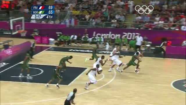 Basketball Men's - Group A - France v Nigeria - London 2012 Olympic Games Highlights